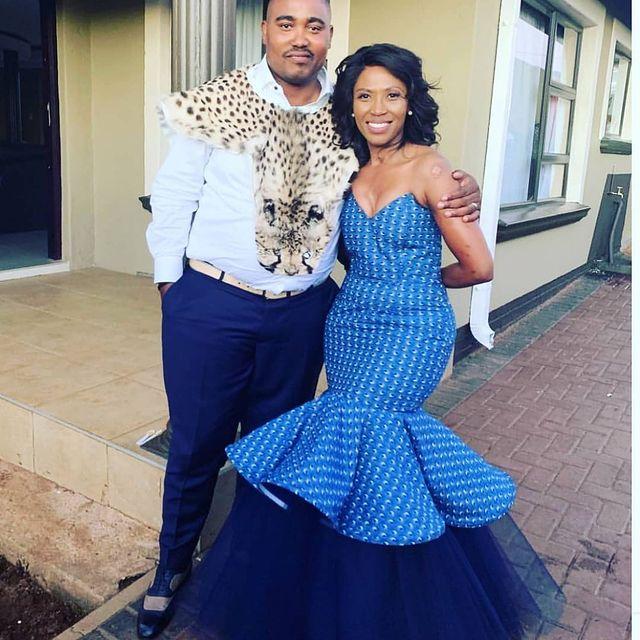 Traditional Shweshwe Dresses 2021 for Wedding (14)
