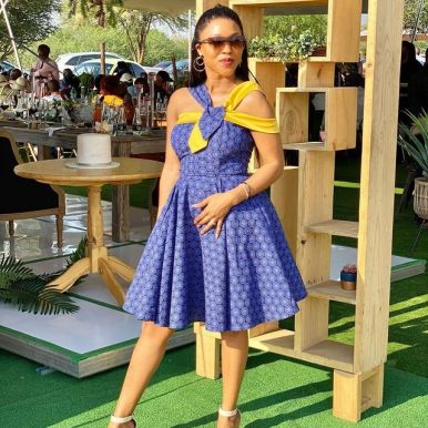Traditional Shweshwe Dresses 2021 for Wedding (3)