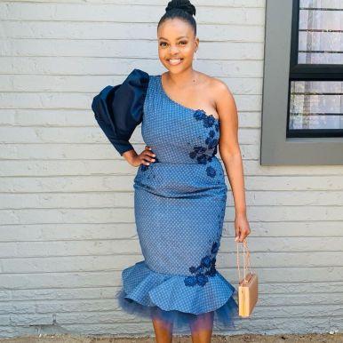 UNIQUE SHWESHWE TRADITIONAL DRESSES AFRICAN 2021 (11)