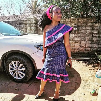 UNIQUE SHWESHWE TRADITIONAL DRESSES AFRICAN 2021 (3)