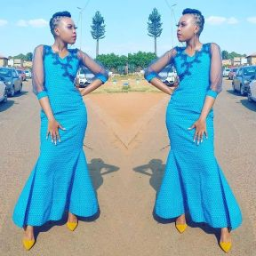 UNIQUE SHWESHWE TRADITIONAL DRESSES AFRICAN 2021 (6)