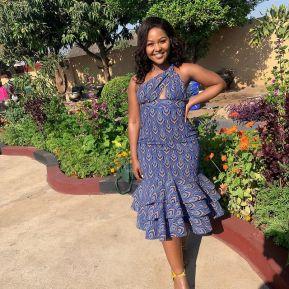 UNIQUE SHWESHWE TRADITIONAL DRESSES AFRICAN 2021 (8)