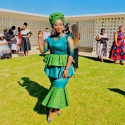 Unique Shweshwe Dresses 2021 For Wedding (11)