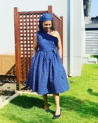 Unique Shweshwe Dresses 2021 For Wedding (4)