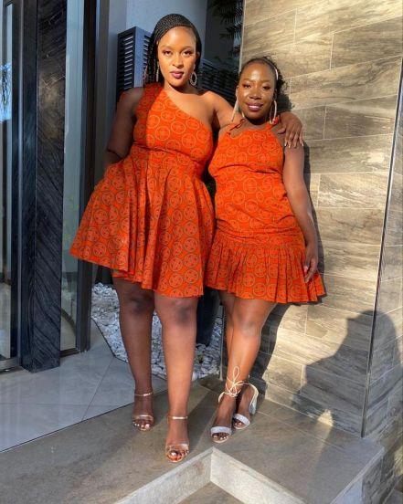 Unique Shweshwe Dresses 2021 For Wedding (8)