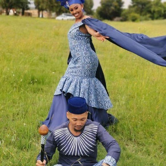 beautiful shweshwe dresses designs 2021 (5)