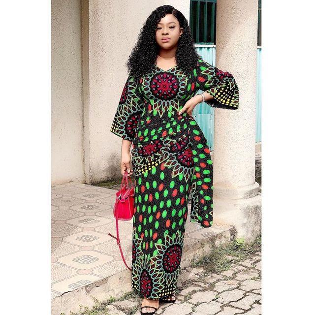Lovely African Ankara Fashion Dresses 2022 (10)