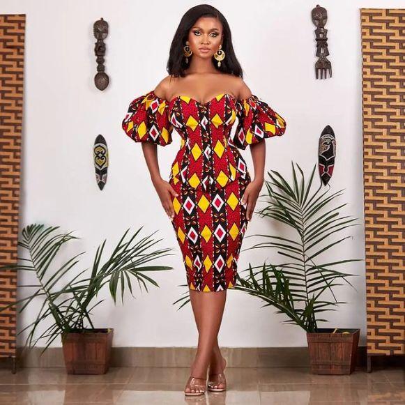 Lovely African Ankara Fashion Dresses 2022 (7)