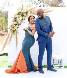 Shweshwe Traditional Dresses 2021 For Black Woman (12)