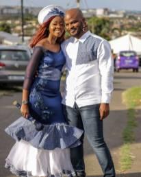 Shweshwe Traditional Dresses 2021 For Black Woman (3)