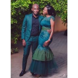 Shweshwe Traditional Dresses 2021 For Black Woman (4)
