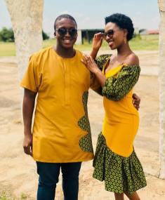 Trendy African Traditional Shweshwe Dress 2021 (16)