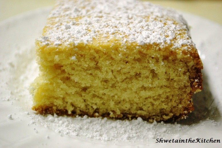 how to make eggless vanilla sponge cake in microwave