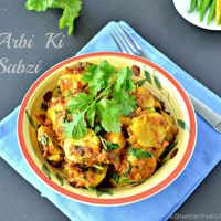 Arbi ki Sabji - Taro Root Vegetable - Arbi ki Dry Sabzi