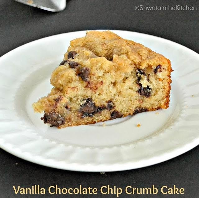 Eggless Crumb Cake