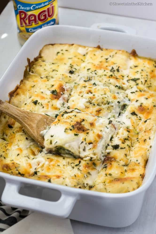 Creamy Mushroom and Spinach Lasagna Recipe