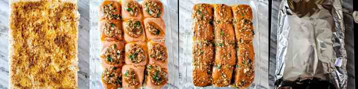 Step 5 - Cheesy Garlic Masala Pav Sliders