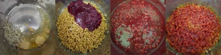 Beet and Carrot Mac and Cheese - Step 2