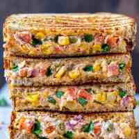 Creamy Vegetable Sandwich