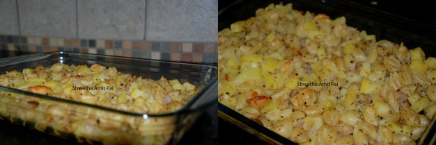 Potato and Pasta Hash Browns