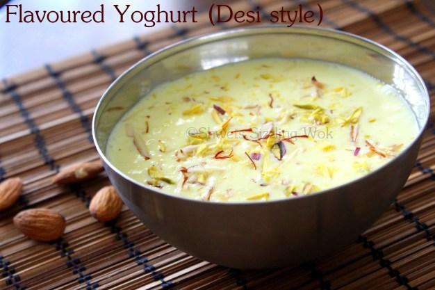Flavoured Yoghurt