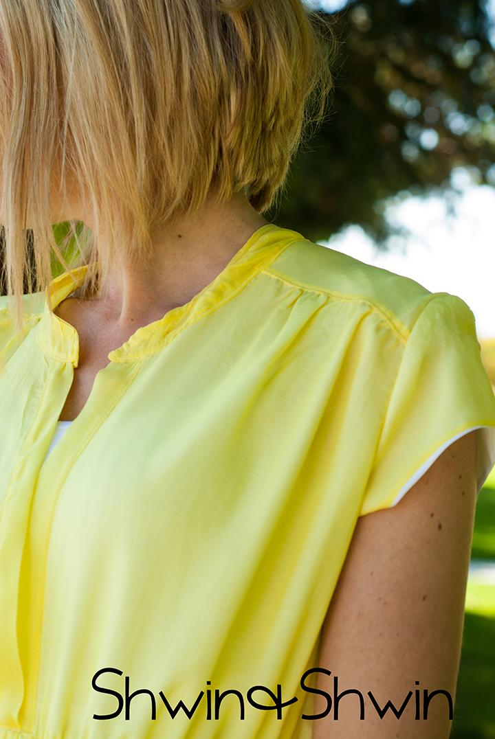 Yellow Dress    Pattern Anthology    Marigold Pattern    Shwin&Shwin