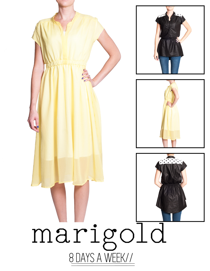 8 Days a Week Collection || Marigold || Women's Patterns
