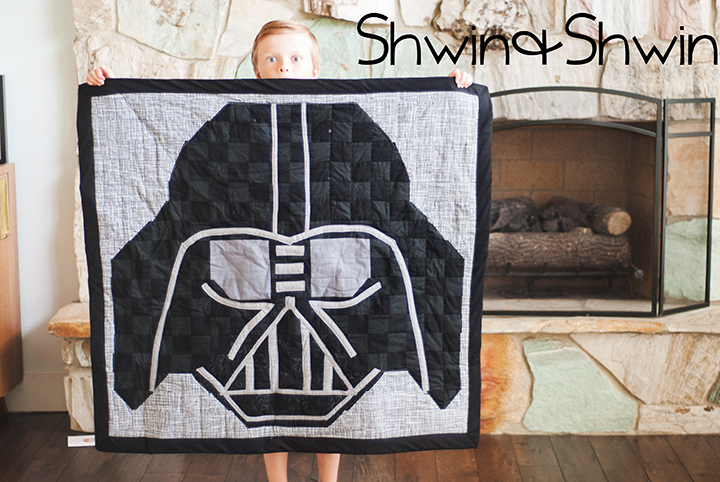 Darth Vader Quilt Free Pattern Shwin Shwin