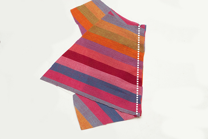 Rainbow Pieced Peplum || Free PDF Pattern || Shwin&Shwin