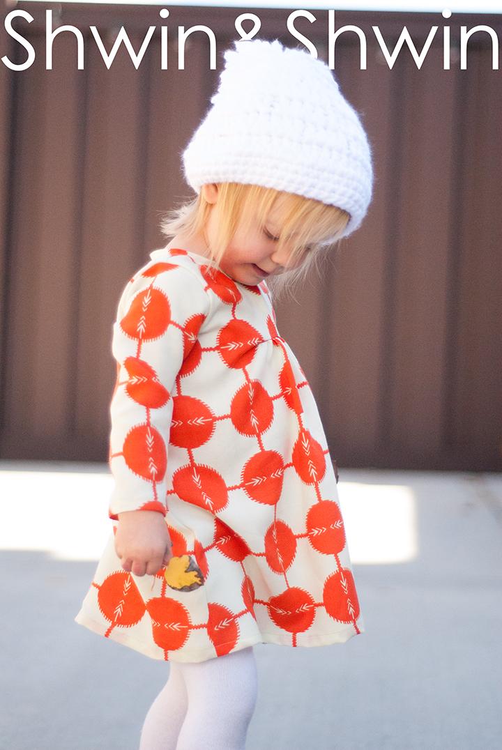 The Carolina Dress || Free PDF Pattern || Shwin&Shwin
