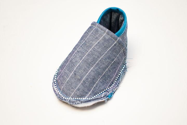 Cloth Baby Sneakers || Free PDF Pattern || Shwin&Shwin