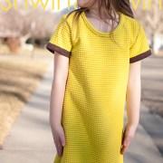 30 Min Tee Shirt Dress    Free PDF Pattern    Shwin&Shwin