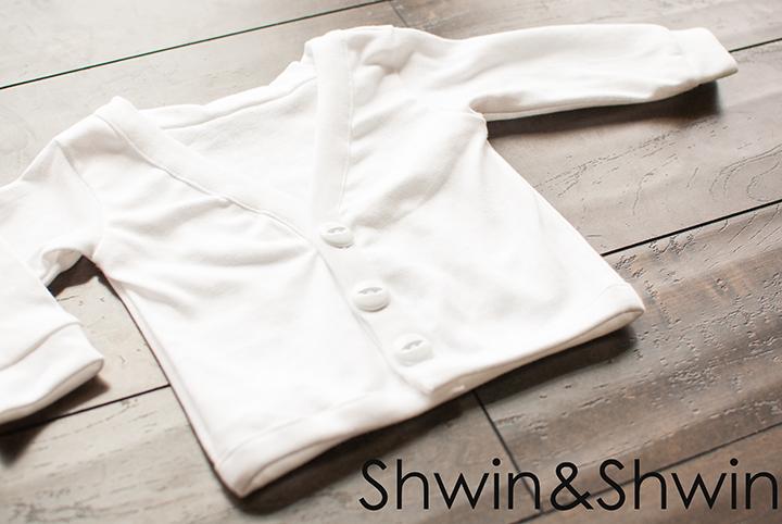 Make a cardigan from a tee shirt pattern || Shwin&Shwin