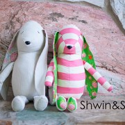 Free Bunny Doll Pattern    Shwin&Shwin