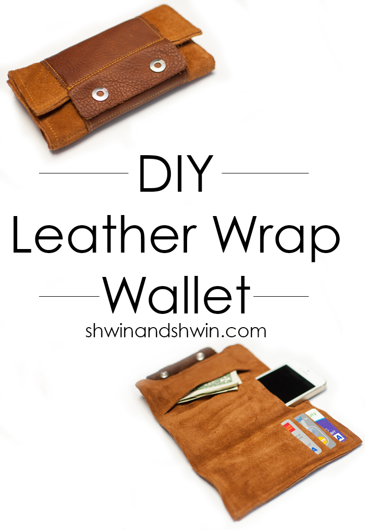 DIY Leather Wrap Wallet Tutorial || Shwin&Shwin