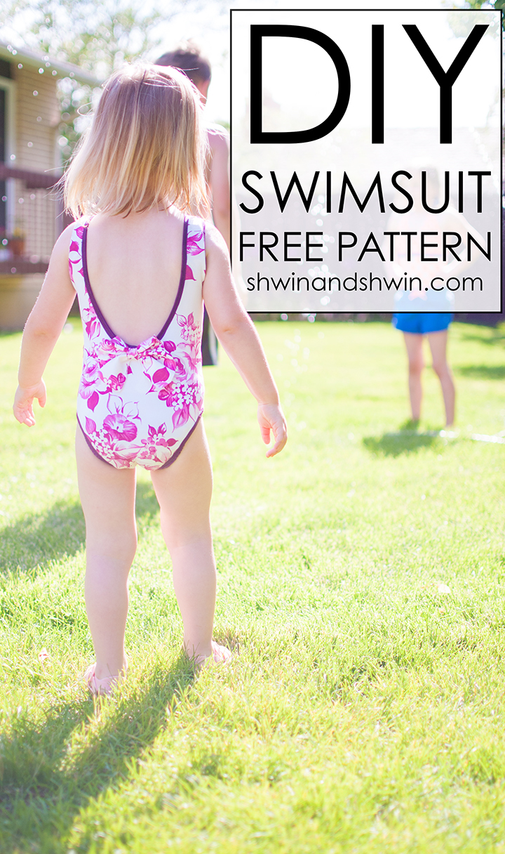 DIY Swimsuit || FREE PDF Pattern || Shwin&Shwin