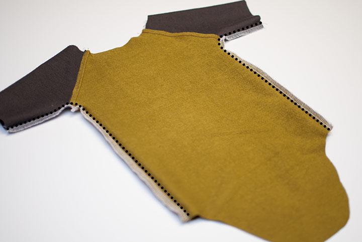 How to make a Raglan Onesie || Free Pattern || Modern Baby Clothes || Shwin&Shwin