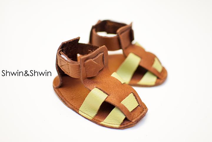 DIY Leather Sandals || FREE PDF Pattern || Shwin&Shwin