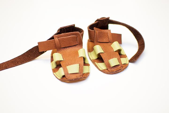 Free Leather Sandals Pattern    Shwin&Shwin