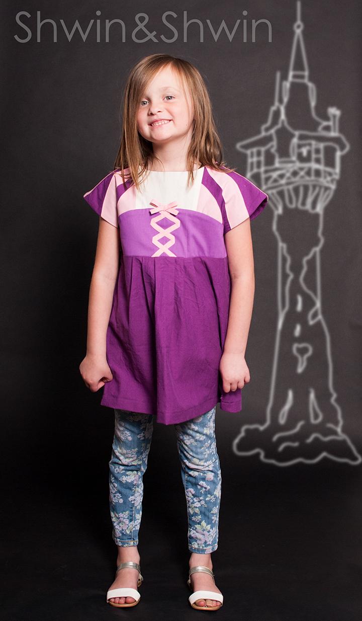 Everyday Princess Tunic || Rapunzel || Shwin&Shwin