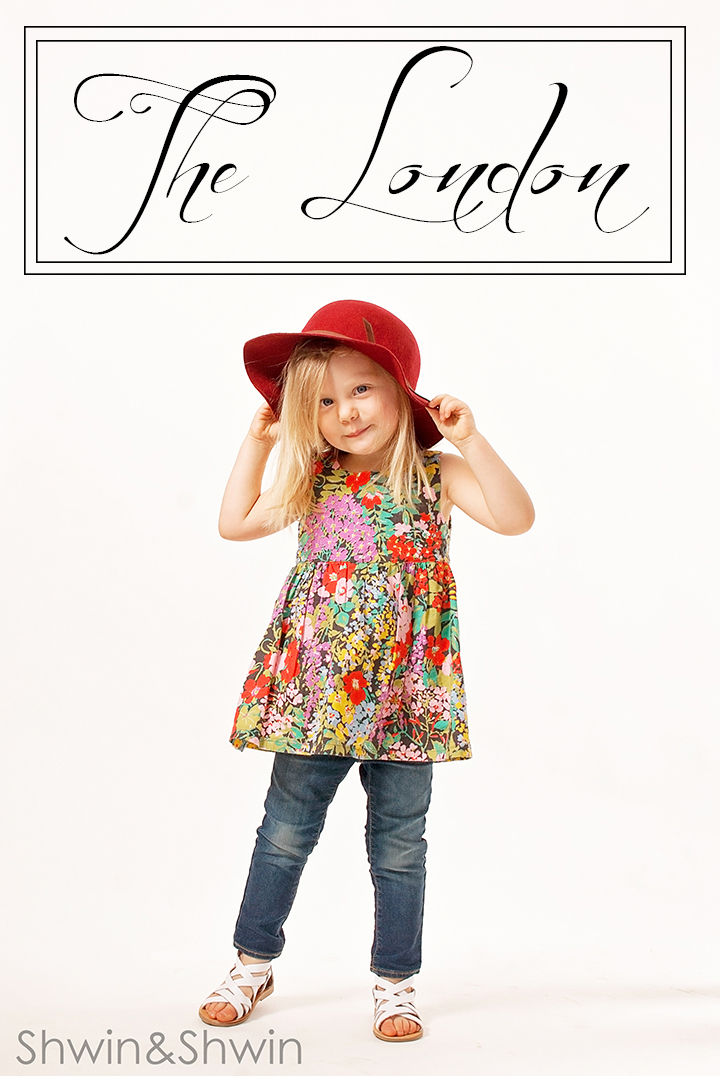 London Top Pattern || City Girl Collection || Shwin Designs