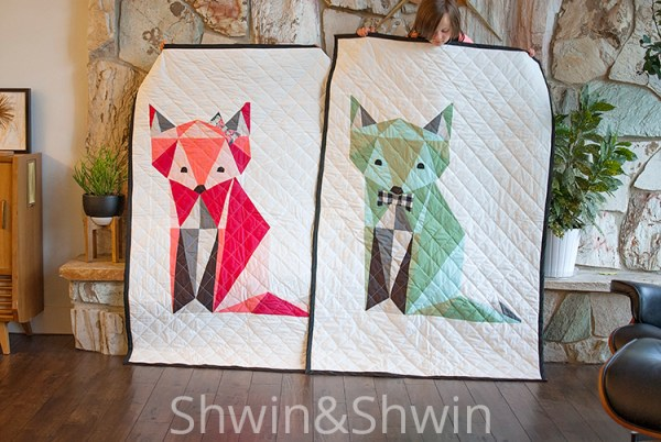 Free Fox Quilt Pattern    Shwin&Shwin