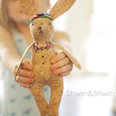 Woodland Bunny Softie || Free Pattern