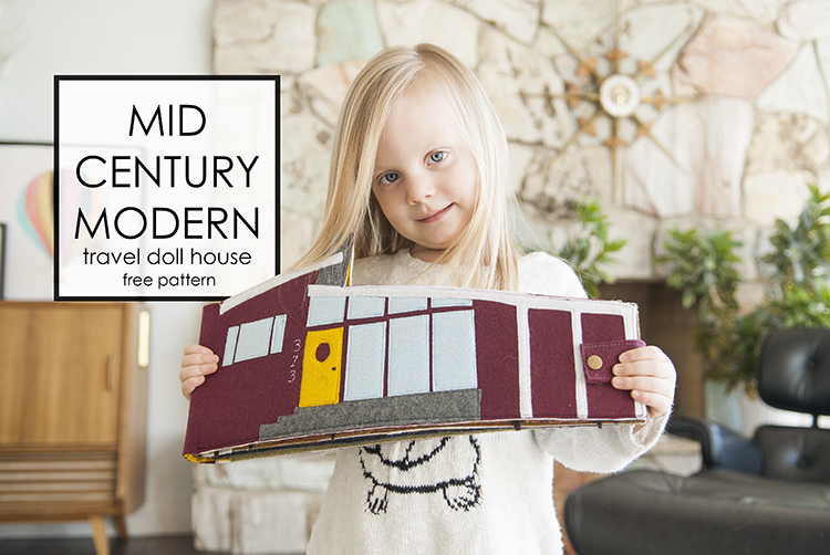 Quality Sewing Tutorials Mid Century Modern Travel Doll
