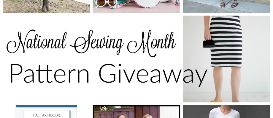 National Sewing Month Pattern Giveaway