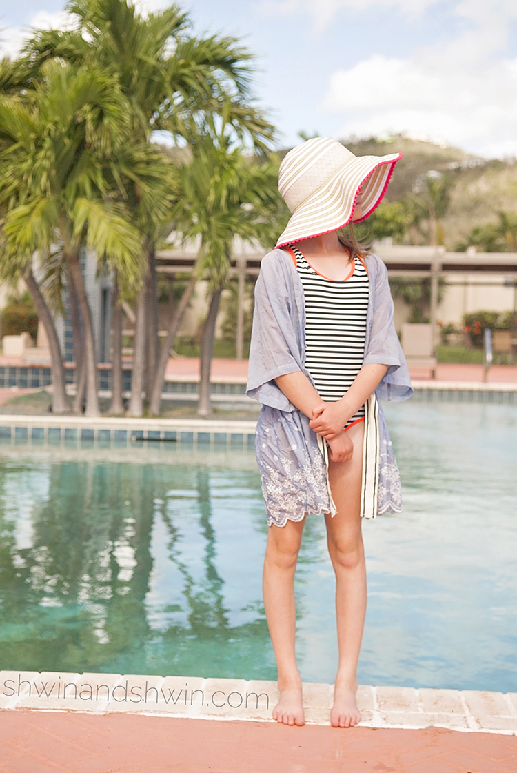 DIY Swim Cover-Up Tutorial || Shwin&Shwin