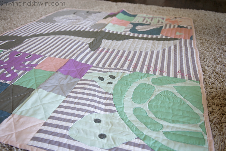 You Me and The Sea Quilt Pattern    Shwin&Shwin