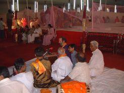 Singing at Milan Babashri's wedding