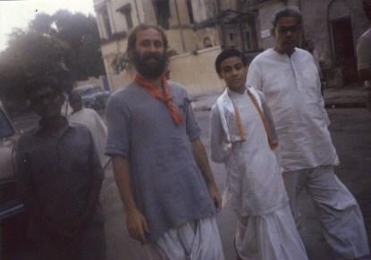 Shyamdas and young Milan Babashri