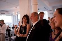 Shyamdas looks on during daughter Hannah's wedding celebrations. With Barbara, Martin, Rhoney, Sharon. (October 23, 2011)